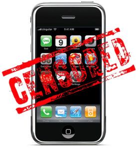 Apple censors iphone dictionary