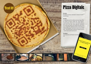 What's Next for QR? Pizzas apparently!