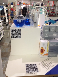 QR code used on POS