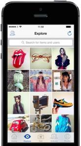 Depop vintage app